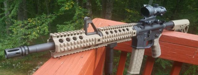 Troy Charlie BattleRail Free Float Quad Battle Rail Carbine Gas