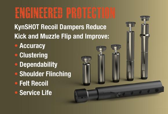 KynSHOT Recoil Reducing Hydraulic Buffer AR10 - Carbine Standard 308