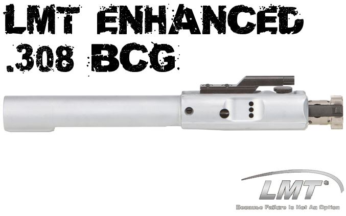LMT Lewis Machine SEMI-AUTO .308 BCG Enhanced Bolt Carrier Group