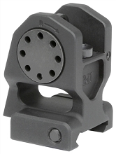 MI Combat Fixed Rear Rifle Rail Mounted Sight BUIS AR15 Midwest