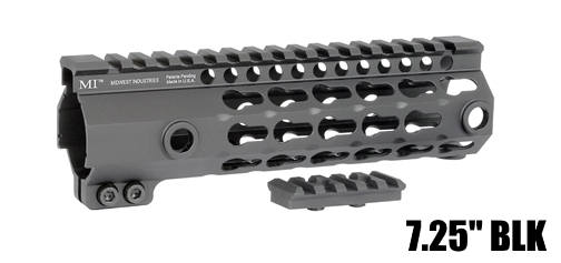 "Midwest Industries 7.25"" MI-G3K7 G3 Seven Sided Keymod Free Float Handguard"