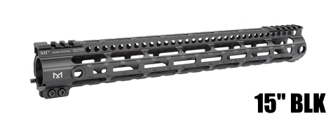 "MI G3 15"" Lightweight LWM M-LOK Midwest One Piece Free Float Handguard"