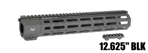 Midwest MI-SP12M-BLK SP Suppressor Compatible One Piece Free Float Handguard M-LOK
