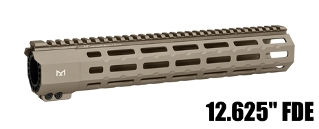 Midwest MI-SP12M-FDE SP Suppressor Compatible One Piece Free Float Handguard M-LOK
