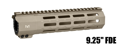 Midwest MI-SP9M-FDE SP Suppressor Compatible One Piece Free Float Handguard M-LOK