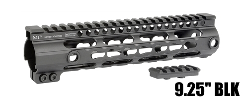 "Midwest 9"" G3 KeyMod One Piece Free Float Handguard AR15"