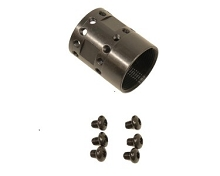 Guntec USA AR15 BARREL NUT ULTRALIGHT JK STEEL AR-15 AR10 .308