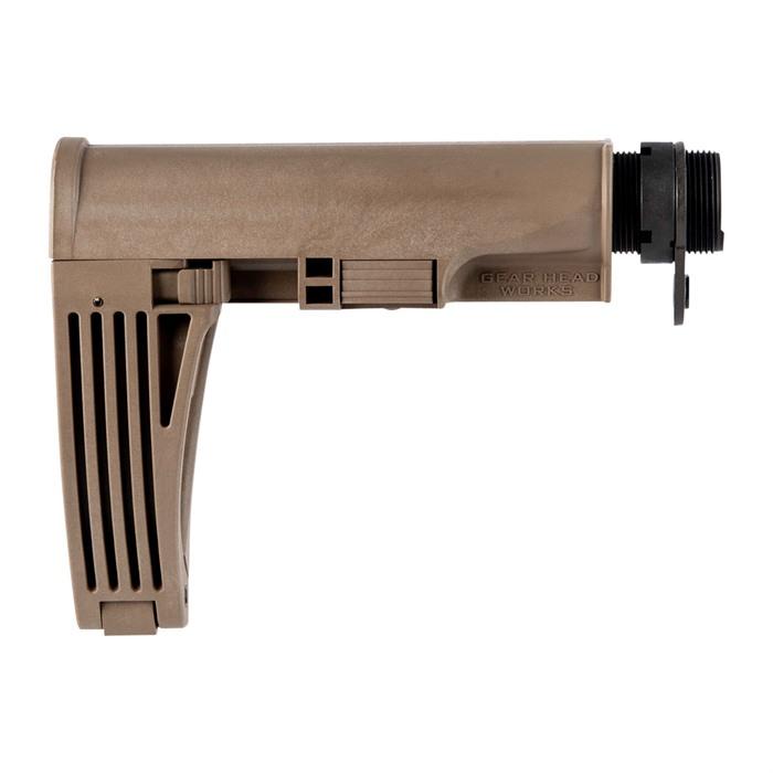GEAR HEAD WORKS TAILHOOK MOD 2 Adjustable AR15 Pistol Brace Collapsible  AR-15