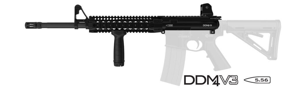 Daniel Defense M4 URG v3 Midlength AR15 Upper M4V3 5.56
