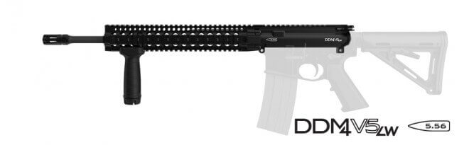 Daniel Defense 5.56 M4 Midlength URG V5 LW 12.0 Rail AR15 Upper