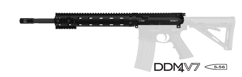 Daniel Defense M4 URG v7 No Sights M4V7 Midlength AR15 Upper