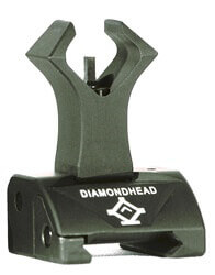 Diamondhead Premium DIAMOND Flip-Up Front Combat Sight SOG AR15