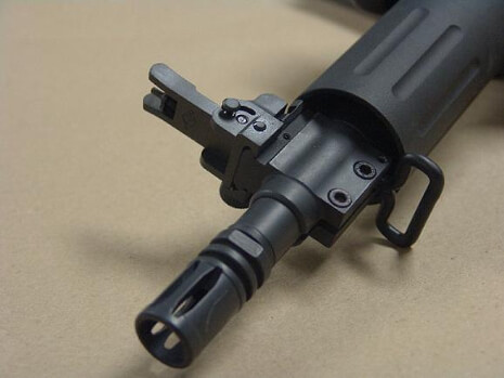 YHM Gas Block Mounted Front Forearm Flip Sight Yankee Hill Tall BUIS