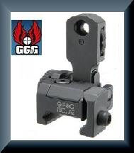GG&G MAD BUIS (Back Up Iron Sight) with Locking Detent GGG-1006