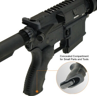 UTG Tactical Ergonomic AR15 Pistol Grip w/ Storage Compartment