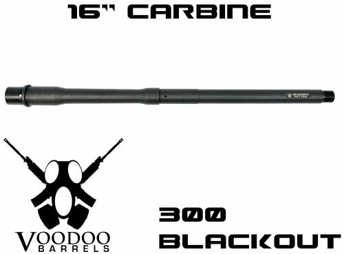 "Adams Arms 16"" 300BLK AR15 Pistol Gas Length Barrel Blackout AR-15"