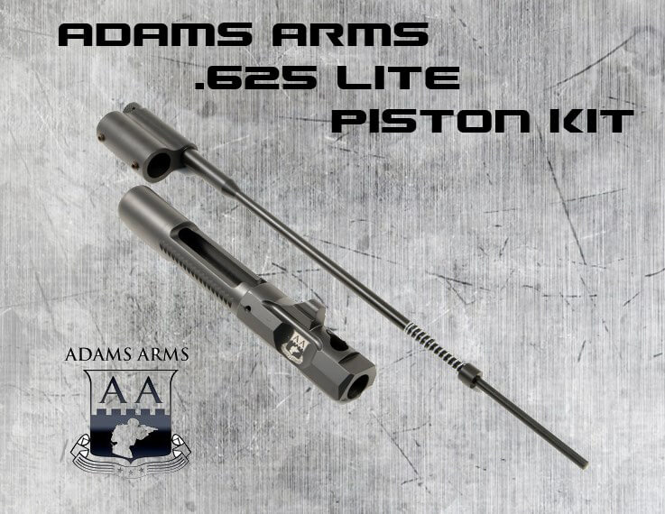 Adams Arms Lite .625 Midlength Piston Conversion AR15 Kit AR-15 MPS-D-ADA-GB10