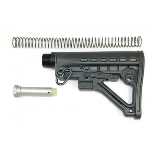 Guntec USA 6 Position Predator Collapsible Stock AR15 AK47 AR-15