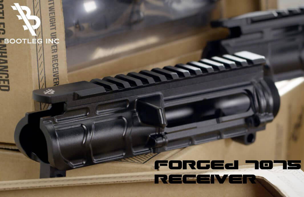 Bootleg Stripped 7075 Forged AR15 Upper Receiver Primary Weapons No Forward Assist