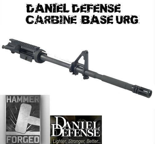 DANIEL DEFENSE AR15/M16 Stripped Upper Receiver Group M4 Carbine