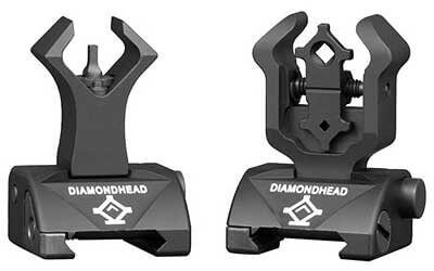 Diamondhead ISS Integrated Sighting System AR15 BUIS SIGHT SET
