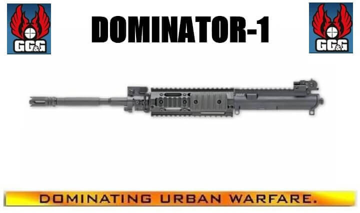 GG&G Dominator-1 Free Float Barreled Upper Receiver 1:7 GGG-1311