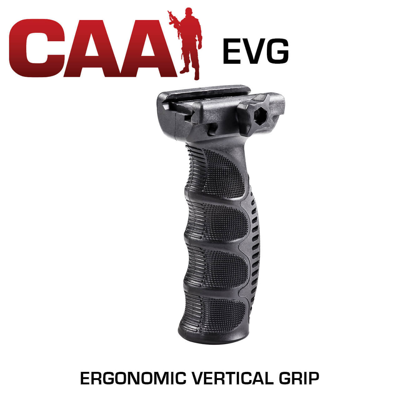 Command Arms EVG ERGONOMIC Vertical Forward Grip CAA AR15 Foregrip
