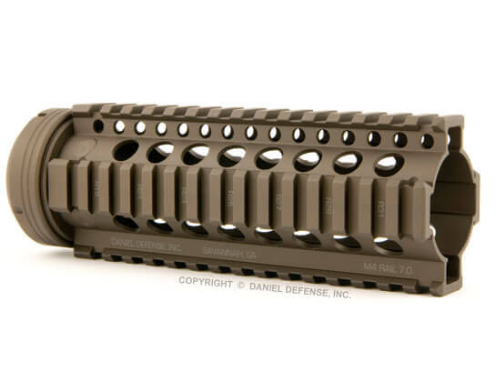 Daniel Defense M4 Rail Flat Dark Earth 7.0 9.0