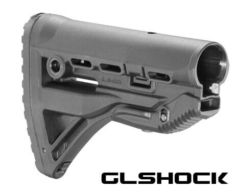 FAB Defense Recoil-reducing M4/AR-15 Stock GL-Shock Mako AR10