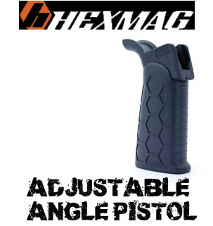 Hexmag Advanced Tactical Grip ATG Adjustable Pistol Angle AR15