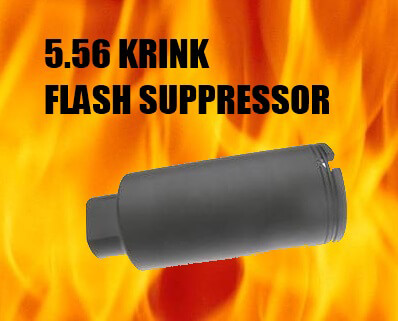 SOG Armory Flash Hider/Noise Reducer 5627 Krink AR15 .223 5.56