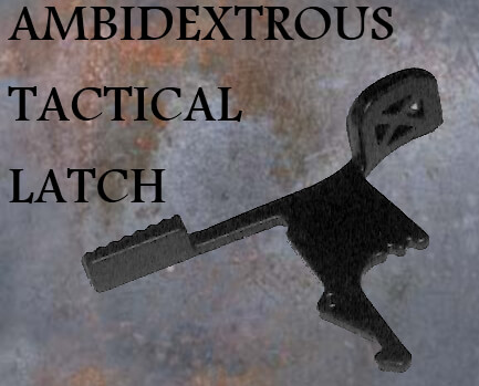 SOG Armory Ambidextrous Charging Tactical Latch for AR Handle