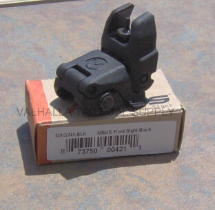 MAGPUL MBUS Front Flip Up MAG245 AR15 BUIS Back Up Iron Sight