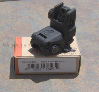 MAGPUL MBUS Rear Flip Up MAG246 AR-15 AR15 Back Up Sight BUIS