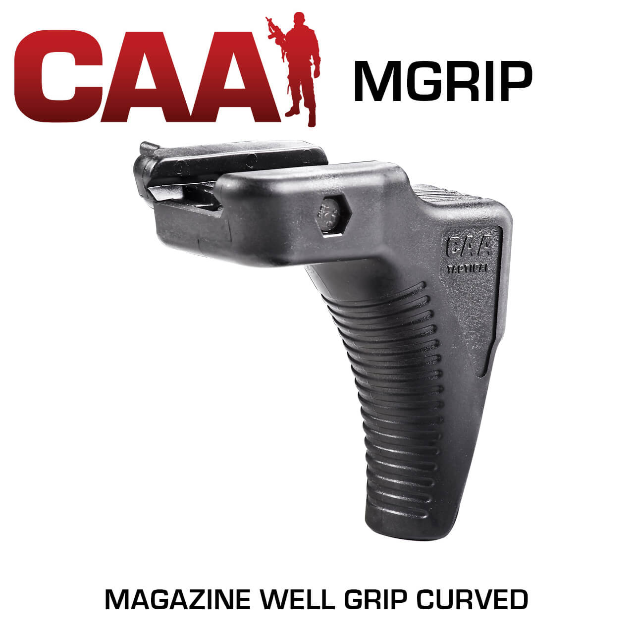 CAA Command Arms MGRIP - CURVED CQB MAGAZINE GRIP