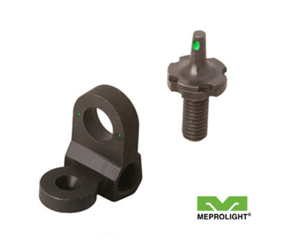 Meprolight Tritium AR15 Night Sight Set 2 Dot Rear and Front