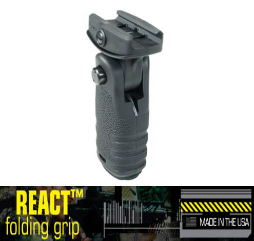 Mission First Tactical MFT Vertical RFG React Folding Grip