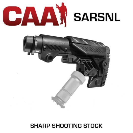 CAA Sharp Shooting Stock + AK47 Stamped Receiver Tube EMA SARSL