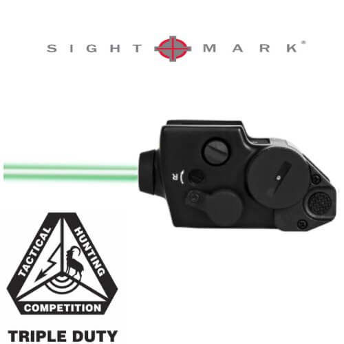 Sightmark Triple Duty Compact Green Laser CGL Sight Pistol AR15