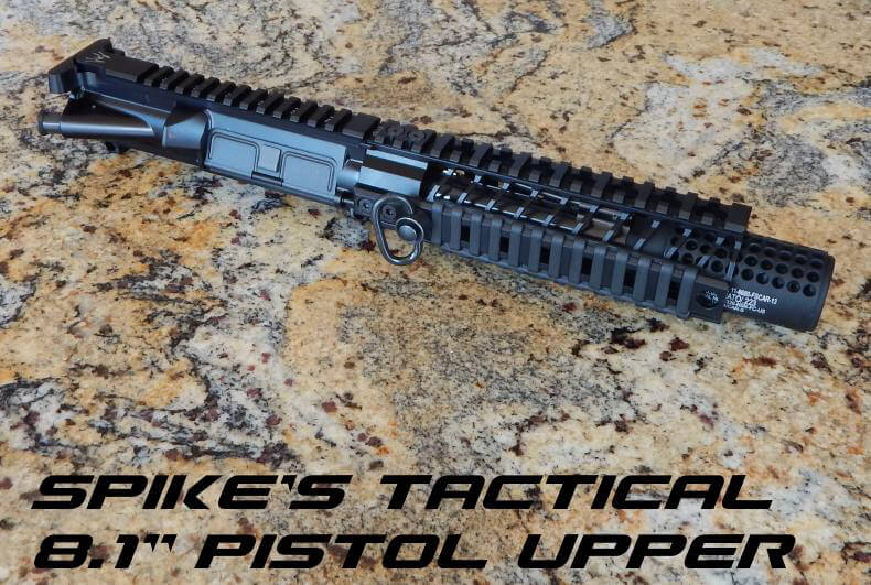 Spike's Tactical Pistol Upper 8.1