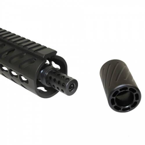 Guntec USA AR10 300BLK QD Blast Shield Compensator AR-10 7 62 Muzzle Comp   308