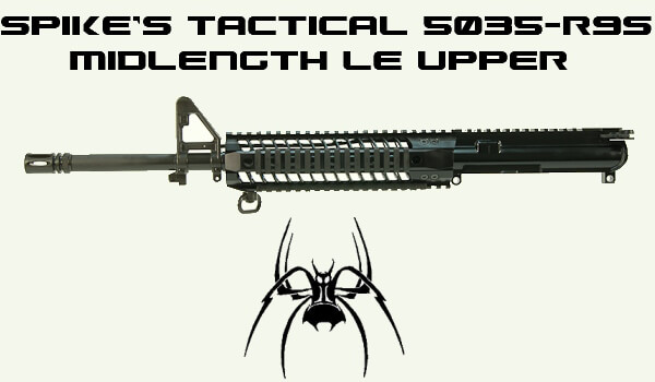Spike's Tactical Midlength Upper 5.56 16