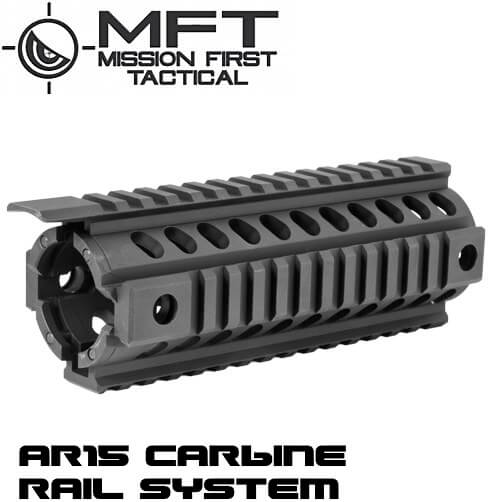 Mission First Tactical Black MFT TEKKO T-MARC Rail Drop In Handguard Quad Rail