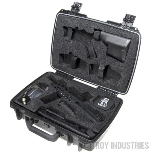 Troy M7 Complete Kit 7.5 inch 5.56 - Black AR15