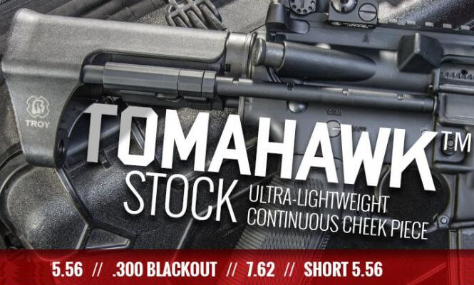 Troy Ultra Short Tomahawk Collapsible PDW Stock AR15 Carbine