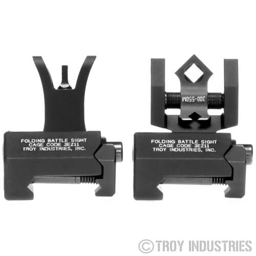 Troy BattleSight Set Micro DOA Di-Optic SSIG-MCM-SSBT-00 Dioptic