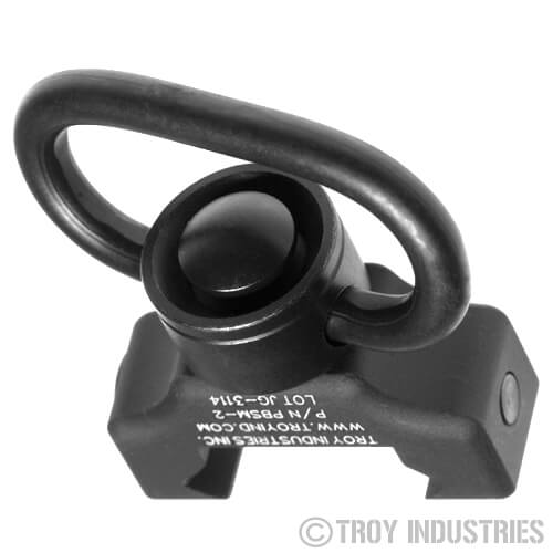 Troy QD 360 Rail Mount Push Button 1.25