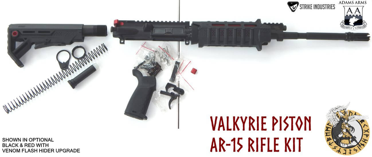 VTS Valkyrie AR15 Piston Rifle Kit Adams Arms Strike Industries