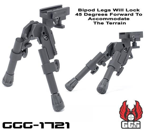 GG&G XDS-2C Compact Tactical Bipod GGG 1721