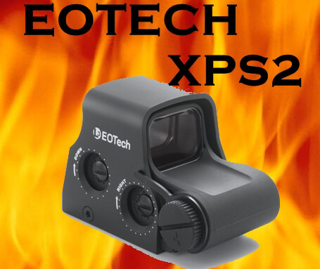 EOTECH XPS SHORTEST LIGHTEST HOLOSIGHT XPS XPS2